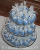 Eggnog Winter Themed Cake Pops