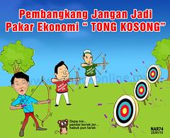 "Pembankang jgn jadi pakar ekonomi Tong Kosong • <a style=""font-size:0.8em;"" href=""https://www.flickr.com/photos/95569535@N05/16344811681/"" target=""_blank"">View on Flickr</a>"