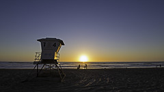 02469084-76-Lifeguard Tower 14 on Mission Beach San Diego at Sunset-1 (Jim There's things half in shadow and in light) Tags: california sunset sky landscape spring sandiego april beachsunset missionbeach lifeguardtower 2016 canon5dmarkiii tamronsp1530mmf28divcusd