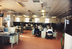 BT Directory Enquiry operators- 1990 (sunbeam31) Tags: uk england town office post please telephone free operators british 100 which exchange gpo telecom directory 192 999 switchroom enquiries telephonists
