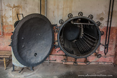 Desinfection Chamber (A.Nilssen Photography) Tags: b camp konzentrationslager gas prison chamber theresienstadt kl mala kz lager concentrationcamp gestapo terezin smallfortress zyklon desinfection pevnost