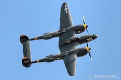 P-38 23 Ski Doo (mvonraesfeld) Tags: show plane fighter aircraft aviation air wwii warbird planesoffame img2977