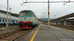 e652-159 (andrewcabassa) Tags: merci sony locomotive transito tigre elettrico trenitalia fotocamera ferroviedellostato savona scalo locomotore e652 xmpr livrea binario9 dsch400 parcodoria