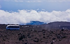 On the way to the top of Mount Etna (somabiswas) Tags: italy bus clouds landscape mount ash sicily volcanic etna