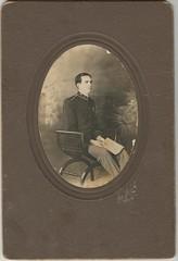 Luther David - uniform - no date (Valrico Runner) Tags: david ga georgia bullock meadow burroughs simmons griffith mercier danielsville okelley
