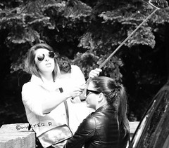 Mi son fatta un bel selfie (Melvintay) Tags: polaroid shot fotografia autoscatto selfie lovebw fotografandolacitta lovebiancoenero faiclick mettiafuocoescatta scattoinbiancoenero