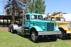 IMG_2797 (RyanP77) Tags: show california b white truck log model shiny trucker international chevy chrome r pete logger gmc peerless kw peterbilt ih kenworth cabover bullnose fruehauf