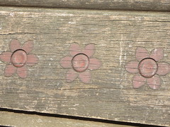Sakura Cherry Blossom theme wooden benches at Japan Day in the Bandshell area of Central Park, New York City, Manhattan Island, USA (RYANISLAND) Tags: nyc newyorkcity pink flowers ny newyork flower japan japanese spring centralpark manhattan cherryblossom  sakura cherryblossoms newyorkstate matsuri japaneseculture nys springtime jpop sakuramatsuri  cherryblossomfestival centralparknyc manhattanisland japanday welcomespring japandaycentralpark peakbloom japandaynyc japanday2016