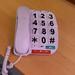 Large button land line  phone