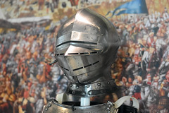 Armour Helmet (Bri_J) Tags: uk museum nikon helmet leeds armour royalarmouries d7200