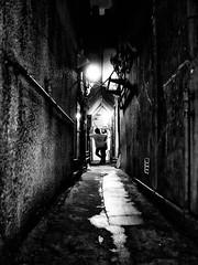 Street Fragments #188 - Shinjuku Labyrinth (Yoshi T. (kagirohi)) Tags: street city urban blackandwhite bw monochrome japan night japanese tokyo blackwhite alley shinjuku cityscape snapshot streetphotography depthoffield   gr nightview  ricoh ricohgr   fragment       streetphotograph        goldangai