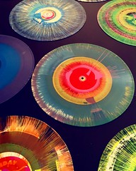 Props to my friend Jon Layne for marrying spin art and vintage vinyl. Still my fave party craft ever. You should always call @dadfluential when you require your party to rock (and roll). Congrats on an awesome event today at the #zimmermuseum #weallplay20 (momfluential) Tags: party art rock vintage for still friend jon call you awesome spin vinyl craft an fave event your when and roll always today should ever props layne congrats require marrying zimmermuseum dadfluential weallplay2016