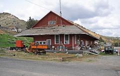 Virginia City, NV - V&T Freight Depot - 2016 (tonopah06) Tags: railroad station train nevada railway rr nv depot virginiacity freight vt est 2016 estreet freightdepot freightstation virginiaandtruckee vtrr
