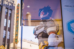 Overwatch Colossal Collectibles: Tracer (Paincakes77) Tags: highland entertainment hollywood tracer blizzard colossal collectibles overwatch