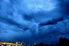 The Storm (Eyellgeteven) Tags: sky cloud storm rain clouds dark evening gloomy wind cloudy windy gloom storms storming gloomanddoom therebeastormabrewin eyellgeteven