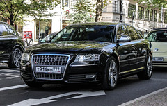 Russia (Moscow) - Audi S8 D3 (PrincepsLS) Tags: berlin germany russia moscow plate license audi russian 777 spotting d3 s8