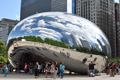Chicago - Cloud gate (holger_scheller) Tags: chicago cloudgate
