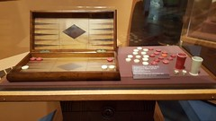 2016-05-20 - Washington's Headquarters - Backgammon/checkers board (zigwaffle) Tags: history newjersey nj americanrevolution morristown georgewashington 2016