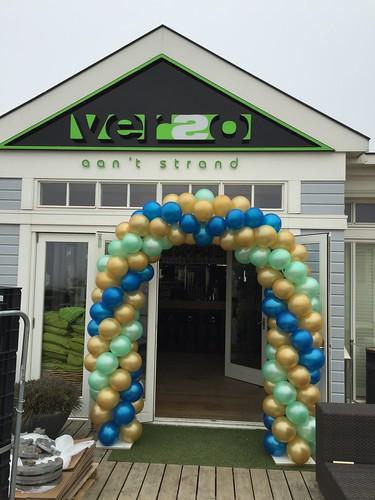 Ballonboog 6m Verso aan t Strand