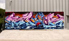 Smak / Sled1 (SMAK TOWN) Tags: santa uk party wales bristol 40th graffiti hand cruz skate skateboard graff screaming sled shiner smak 2016 sled1