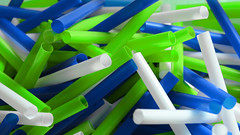 You See What I'm Thinking.. (FanDabbyDavey) Tags: white green mixed mess colours purple tubes holes straws jumble crossed