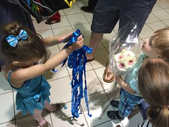 """Paul Gives Inde Streamers After Her Recital • <a style=""""font-size:0.8em;"""" href=""""http://www.flickr.com/photos/109120354@N07/27578340740/"""" target=""""_blank"""">View on Flickr</a>"""