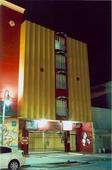 Harrison St. at night (Stephen Hilton) Tags: canonetgiiiql17 ektar100