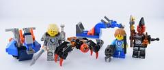 Lego Nexo Knights magazine presents (Alex THELEGOFAN) Tags: lego nexo knights lance richmond robin aero horse monster warrior spiders globlins