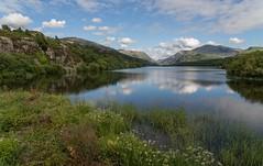 Padarn Lake and Snowdon June 2016 (PSHiggins) Tags: lake wales nikon snowdon welsh dwr fullframe fx llanberis snowdonia cribgoch llyn glyder d600 padarn d610 elidir