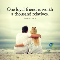 One Loyal Friend (learninginlife) Tags: friend loyal relatives