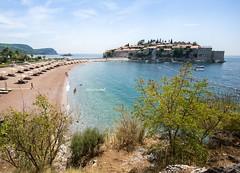 Sveti Stefan (Picturethescene) Tags: lake tourism hotel bay resort balkans adriatic montenegro waterscape kotor summerholidays svetistefan boka skadarskojezero kotorska romanticplace skadar luxuryplace