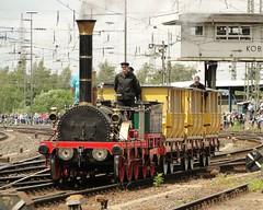 DB Replicar of the Adler steamlocomotive.