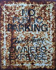 fpi071416-01 (fontplaydotcom) Tags: sign rusty nopublicparking