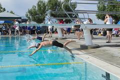2028 Olympics Preliminary Races (aaronrhawkins) Tags: swimming pool utahcounty spanishfork utah championships race freestyle boys goldmedal 25yards 7and8yearold dive splash start swim water joshua aaronhawkins