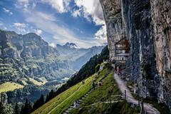 2016 08 Appenzell Restaurant montagne (AKAMASSI) Tags: mountain suisse switzerland sky swiss sun summer canon tamron light restaurant forest lostworldpics lostwordlpics clouds pierremichel pierremichelphotography