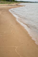 Lake Michigan Shoreline, Manistique, MI, June, 2016 (Norm Powell (napowell30d)) Tags: fineart shoreline landscape greatlakes travel upperpeninsula puremichigan up landscapes manistique michigan lakemichigan
