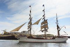 Scheveningen: Tall Ship Europa (H. Bos) Tags: tallship sailingvessel zeilschip bark europa schip ship zeilen sails thehaguebeach scheveningen thehague denhaag