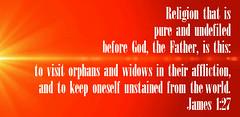 James 1:27 (joshtinpowers) Tags: james bible scripture