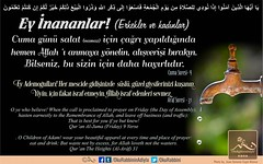Kerim Kur'an 62-9 (Oku Rabbinin Adiyla) Tags: kuran islam ayet ayetler hadisler islamic quran ayah verse god religion bible muslim