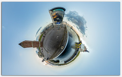 Harbour tower, Little planet.jpg (___INFINITY___) Tags: 6d aberdeen beach harbour canon darrenwright dazza1040 eos infinity littleplanet scotland 360