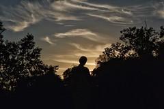 image (Luis Iturmendi) Tags: heaven cielo sky atardecer sunset light luz silhouette silueta clouds nubes colors dark