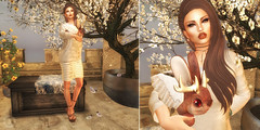 Lina (Aselyasweet) Tags: secondlife flowers white animal