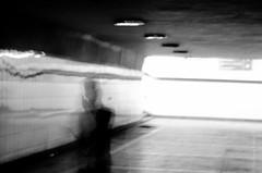 Blurred (Shubhang Pandey) Tags: bw street bangalore india man life grain monochrome blackandwhite