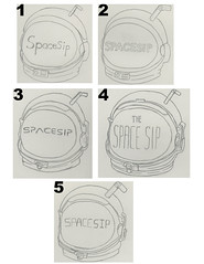 Spacesip Logo Progress (taylorrobbins6) Tags: robbins 20011