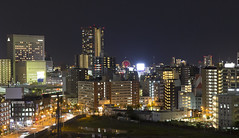 Metropolis III (Andrey Grushnikov) Tags: japan osaka metropolis night