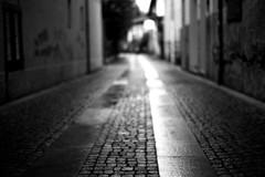 Sorry, i forgot my glasses (Leica M6) (stefankamert) Tags: stefankamert street blurred blur way city blackandwhite blackwhite schwarzweis sw bw baw leica m6 m voigtlnder nokton ilford fp4 film analog shimmer shining dof grain rangefinder mood