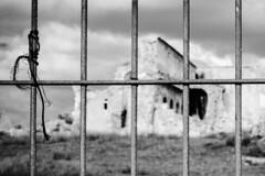 Ns Paulis 003 (ambrogio_mura) Tags: d7100 1870 bw bn bianco e nero black white ns paulis chiese chiesa church jail cloud cloudy sacro sacred