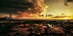 Morning Glory (Gopostal1) Tags: sunrise lighthouse sea sand ocean