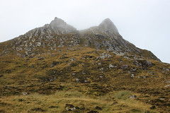 Sgor Chaonasaid (708 m), the eastern peak of Ben Loyal. Quite a wind chill on this October day on the summit. (Shandchem) Tags: ben loyal tongue sgor chaonasaid corbett scottish mountain hill