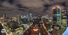 Melbourne Panoramic (kenneth chin) Tags: thewilliam nikonaustralia nikon d810 sigma fisheye panorama yahoo google city cityscape australia victoria melbourne cloud brilliant
